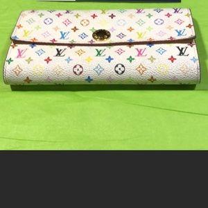 Louis Vuitton Multicolored Wallet